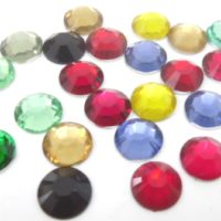 קריסטלים אקריליים להדבקה | יהלומים להדבקה