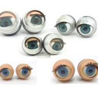 15 זוגות עיניים ישנות לבובות, מיקס סוגים וגדלים 14-24ממ